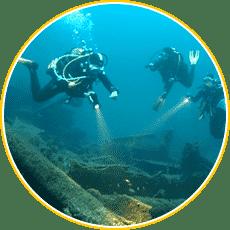 30 sites de plongées sur épaves - Aixplo Aix-en-Provence Plongée