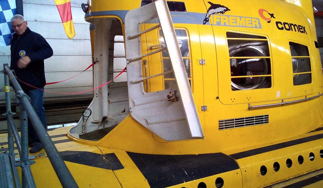 AixPlo Aix-en-Provence Plongée - Visite du sous-marin marseillais, le SAGA